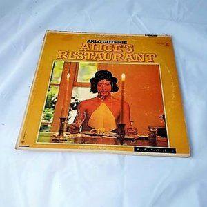 Arlo Guthrie - Alice's Restaurant Vinyl LP Record